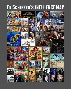 Ed Schiffer Influence Map